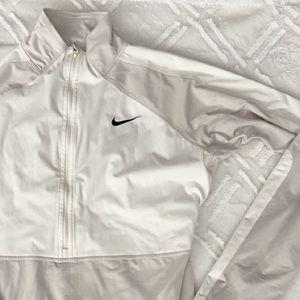 Nike Pro Half Zip Track Jacket Cinched Waistband